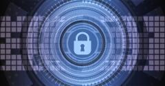Data Security Padlock