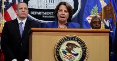 Deputy Attorney General Lisa Monaco addresses the Colonial Pipeline ransomware attack