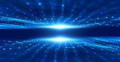 digital transformation blue