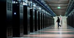 Inside Facebook's data center in Lulea, Sweden