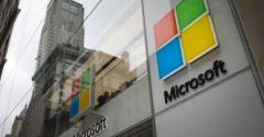 The Microsoft store in Midtown Manhattan, New York City, in 2018