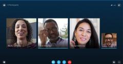 Skype for Business Screen
