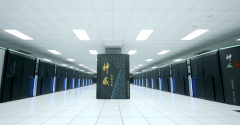The Sunway TaihuLight supercomputer, running at the National Supercomputing Center in the city of Wuxi, China