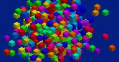 Data storage cubes