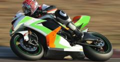 Speedy motorcycle racer