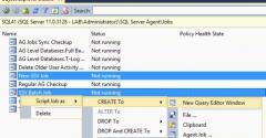 SQL Server Availability Groups screenshot