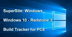 Windows 10 (Redstone 3) Build Tracker Hero