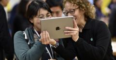 Apple Inc. iPad Photographer: Christopher Dilts/Bloomberg