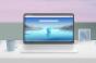 Microsoft edge browser on laptop