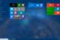 What the tweaked Start Screen transparency looks like in Windows 10