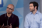Microsoft CEO Satya Nadella and LinkedIn39s CEO Jeff Weiner