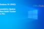 Windows 10 (19H2) Cumulative Update Build Tracker for PCs