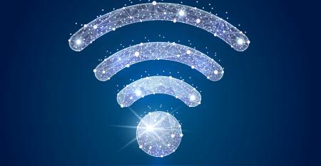 wifi symbol lights