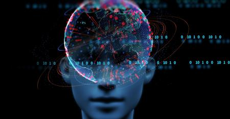 conceptual image of artificial intelligence