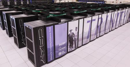 Cray's Trinity supercomputer