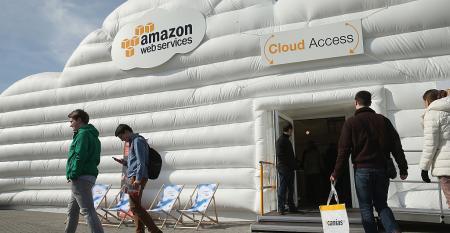 AWS cloud pavilion cebit 2016