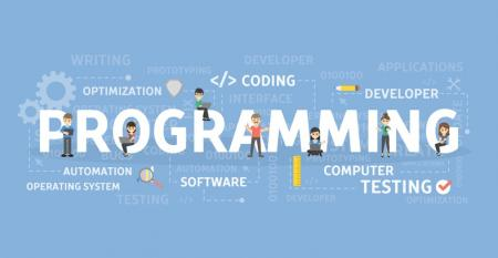 Illustration of words about programming languages