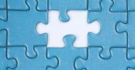 missing blue puzzle piece