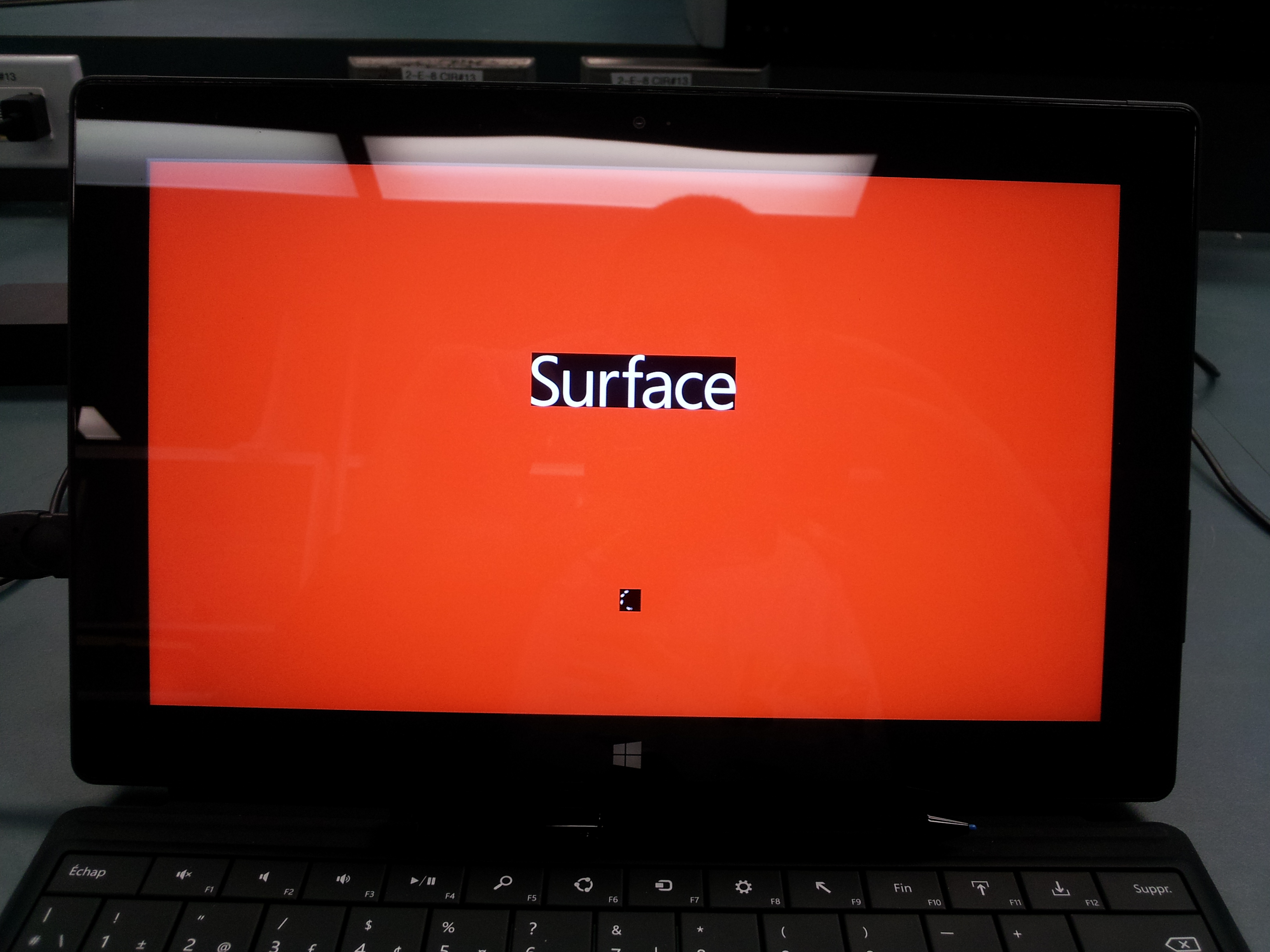 A recent Microsoft System Update can cause a Red Screen