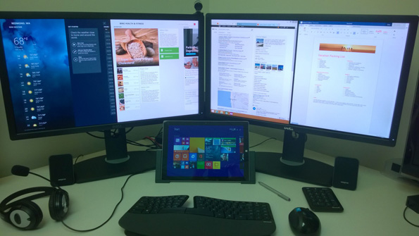 Microsoft Details Surface Pro 3 Docking Station External