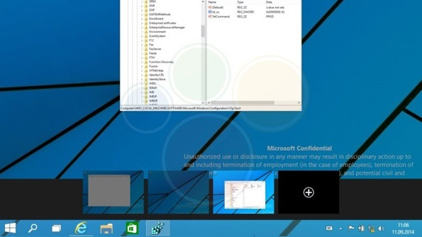 Windows 9 Technical Preview Screenshots Leak: An Analysis (Part 2)