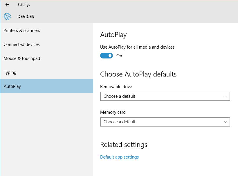 How to customize AutoPlay defaults on Windows 10 | IT Pro