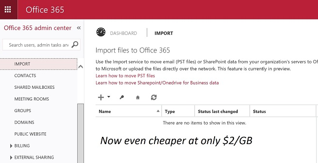 Microsoft reduces price for Office 365 Import Service | IT Pro