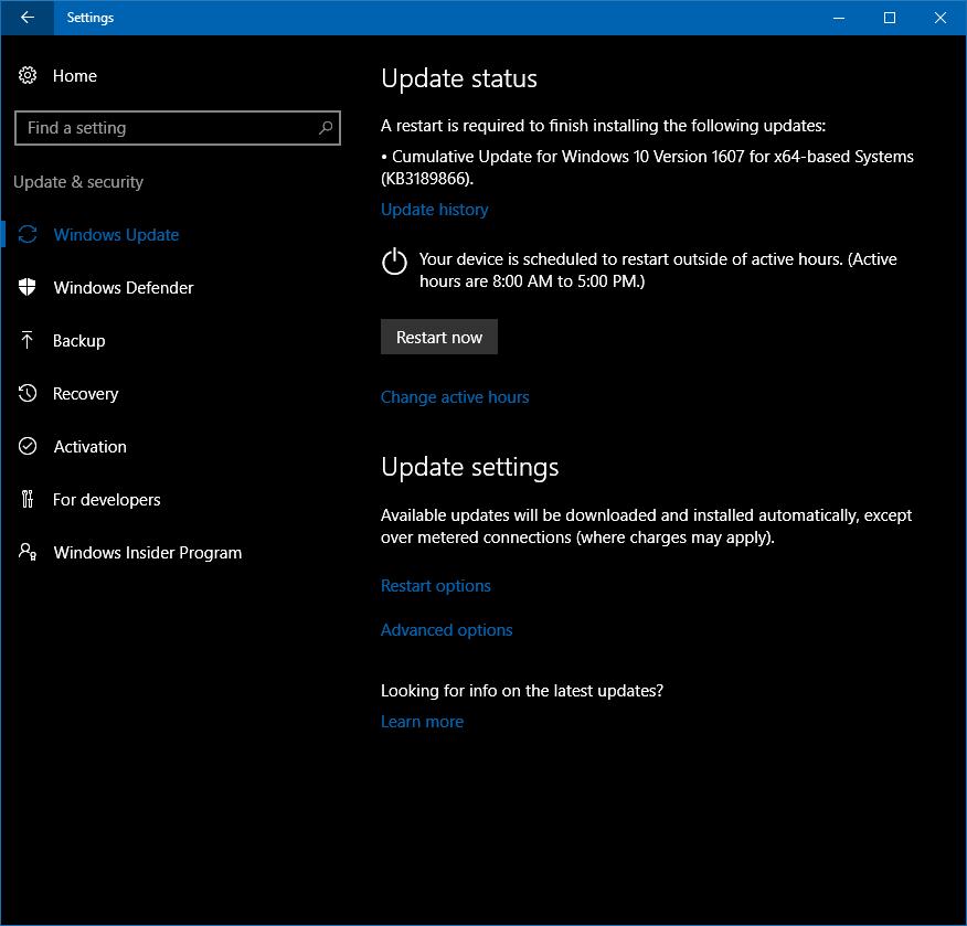 Peachy Windows 10 The September Update Addresses Bugs Quality Home Interior And Landscaping Spoatsignezvosmurscom