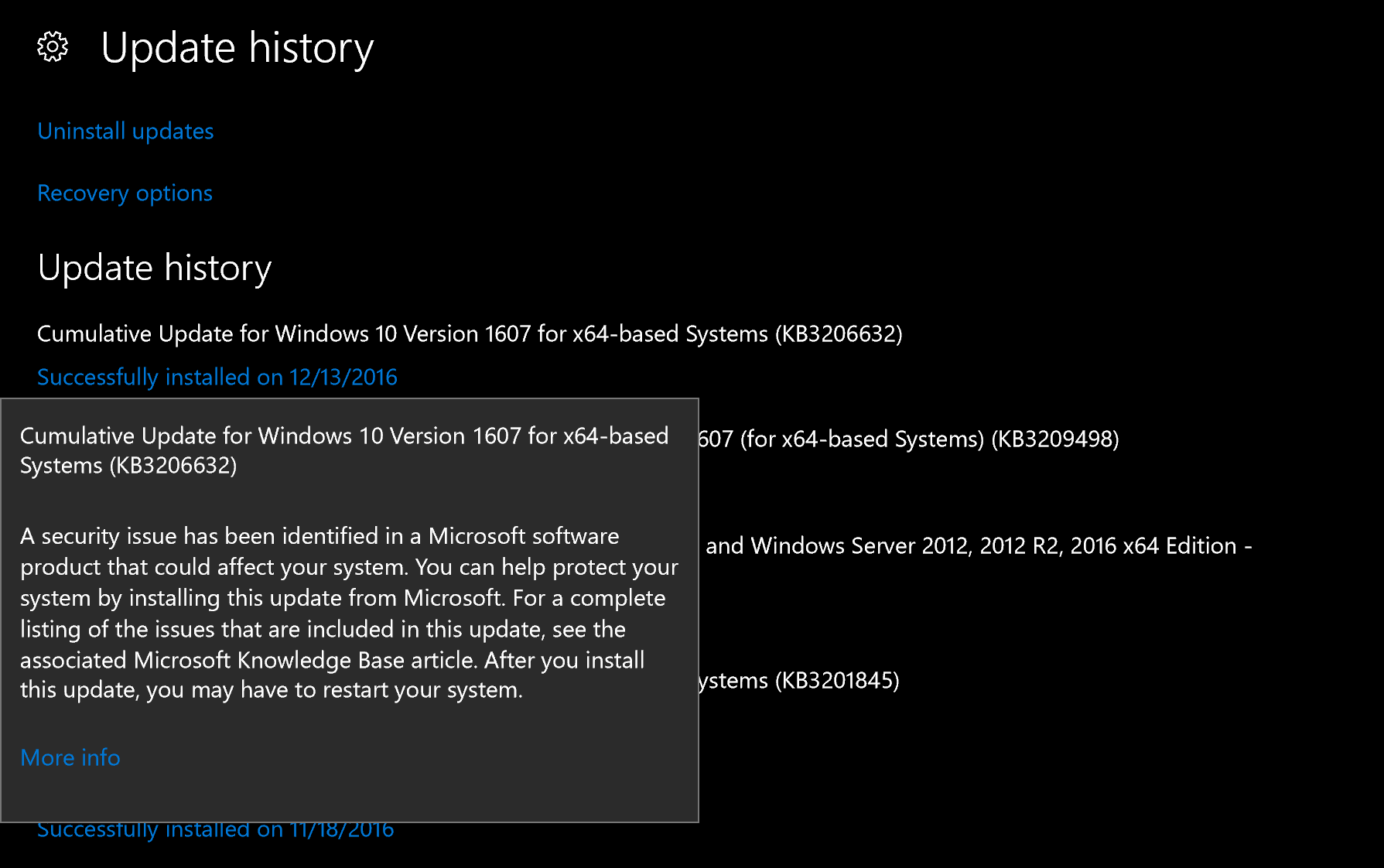 Windows 10 | Monthly updates address 12 security related