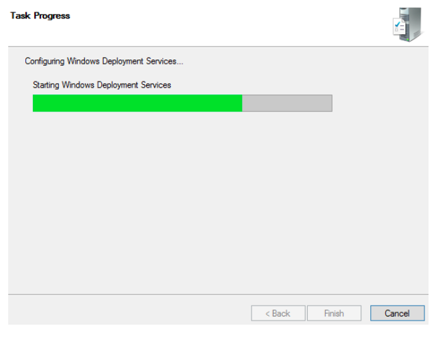 Configuring Windows Deployment Services on Server 2012 R2