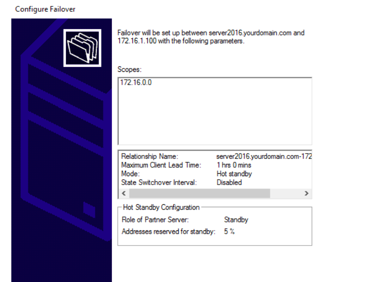 Configuring DHCP Failover in Windows Server 2016   IT Pro