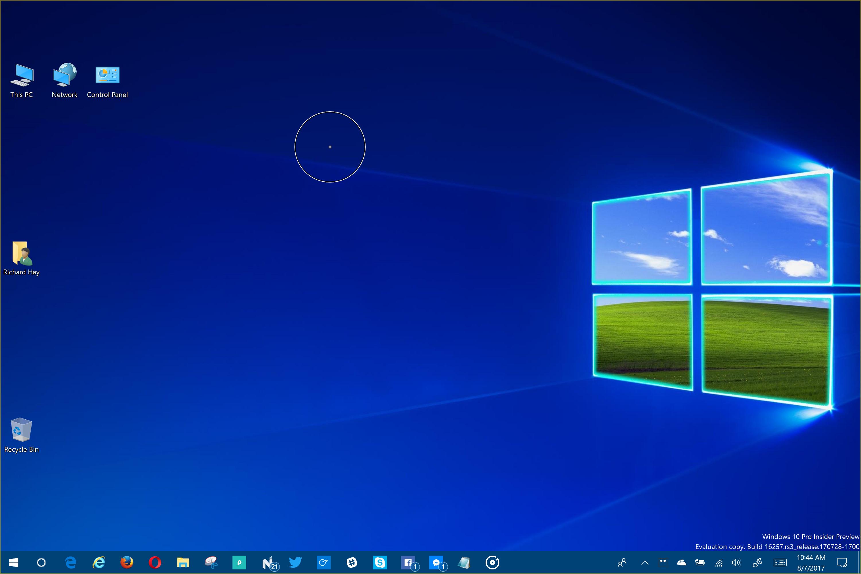 Eye Tracking Tools in the Windows 10 Fall Creators Update