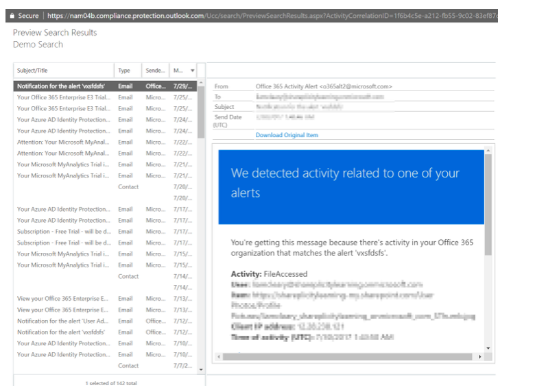 New Features for eDiscovery within Office 365   IT Pro