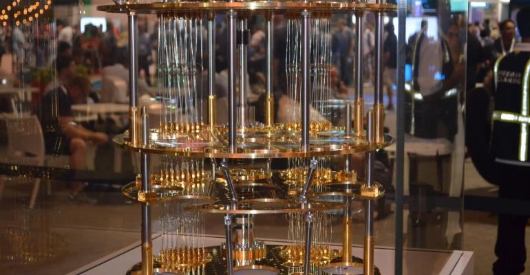 Quantum Computer on Display at Microsoft Ignite 2017