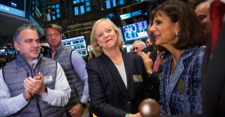 HPE CEO Meg Whitman has spent much of the past two years shrinking her company, trying to make it more responsive to key markets.