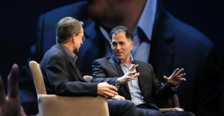 Pat Gelsinger and Michael Dell