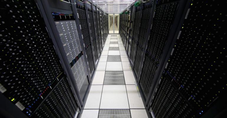 CERN data center in Meyrin, Switzerland, 2017