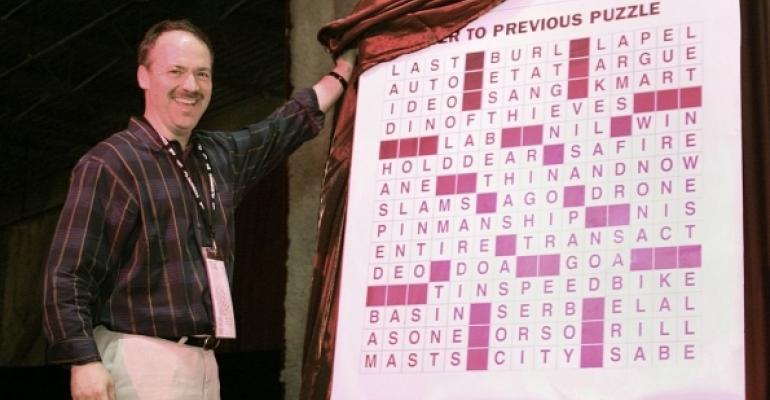 Will Shortz NYT Crossword Editor