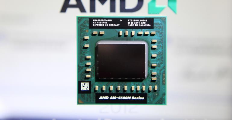 Here's an AMD chip