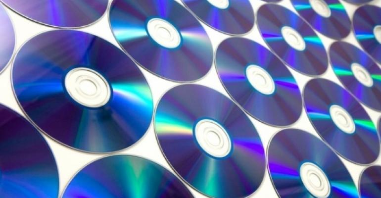 DVD as a background