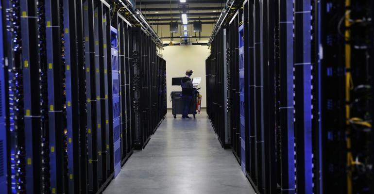 The Facebook Inc. Prineville Data Center in Prineville, Oregon. Photographer: Meg Roussos/Bloomberg
