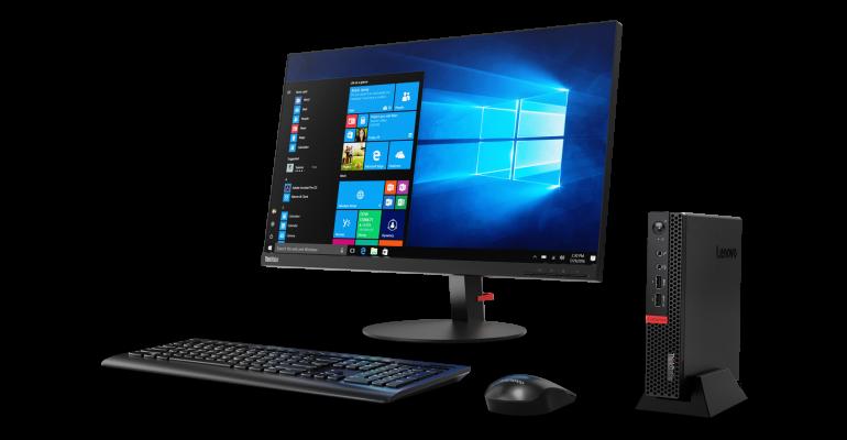 Lenovo's ThinkStation P320 Tiny is Part of Lenovo's New PCs As A Service (PCaaS) Program
