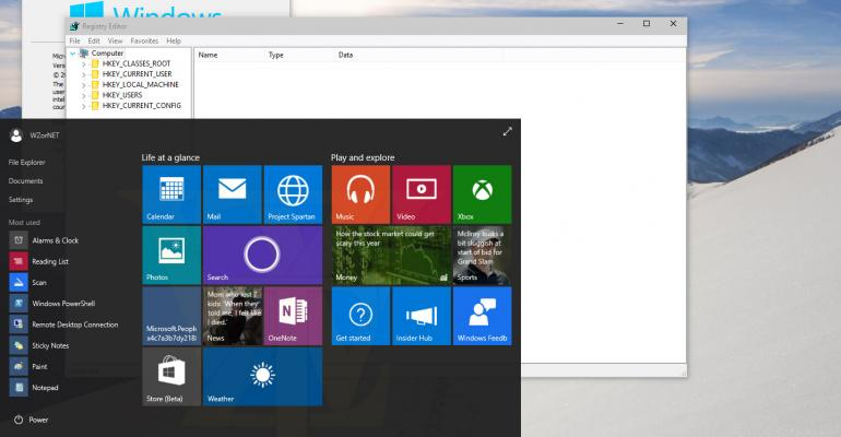 Gallery: Windows 10 build 10056 images leaked