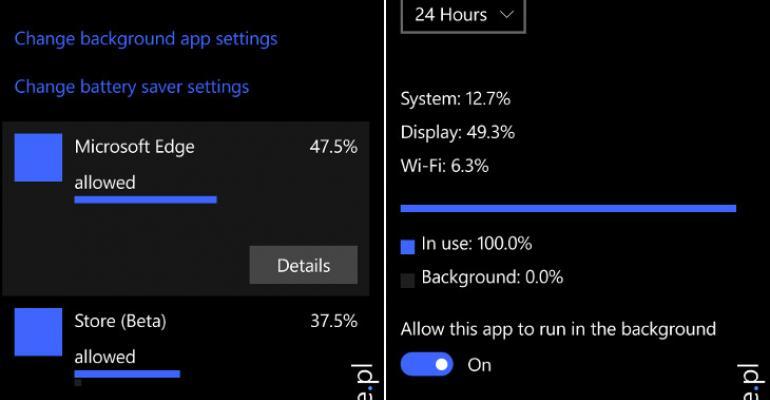 Gallery: Windows 10 Mobile Build 10149 Screenshots