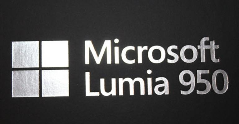First Look: Microsoft Lumia 950