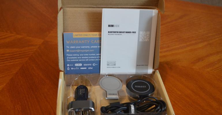 HIMBOX Bluetooth Car Kit Hands On