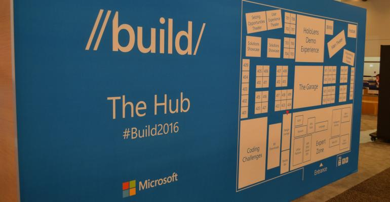 Build 2016 - Visiting the Hub Expo Floor