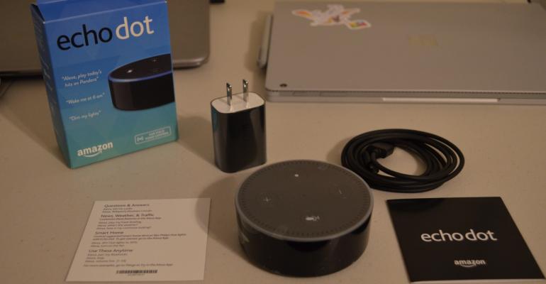 Unboxing and Setup of Amazon Echo Dot