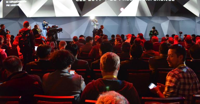 CES 2017: LG Press Conference in Pictures