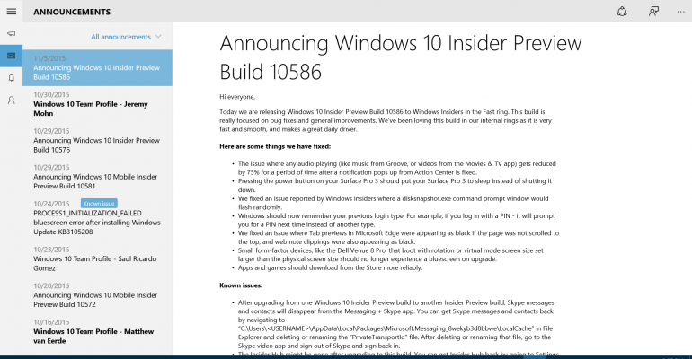 How to reinstall the Windows 10 Insider Hub